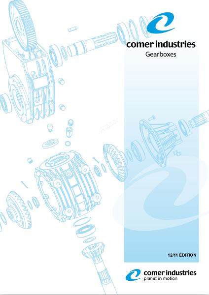 Каталог редукторов Comer Industries