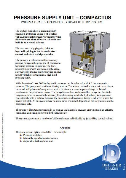 Гидростанции Dellner серии Compactus