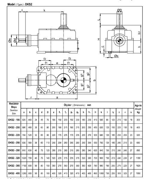 Dissan редуктор DKS 2