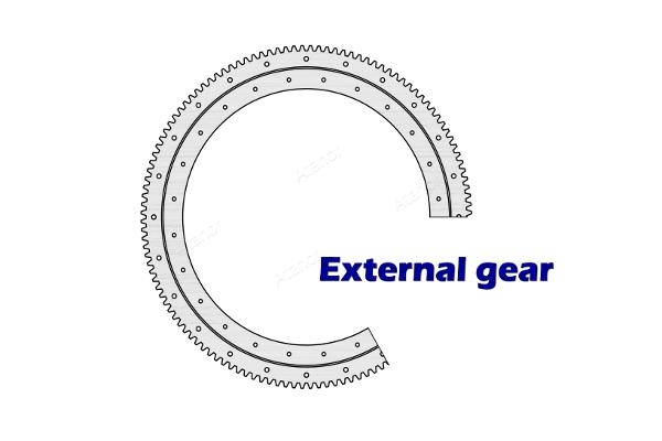 Опорно-поворотные кольца TGB серии E