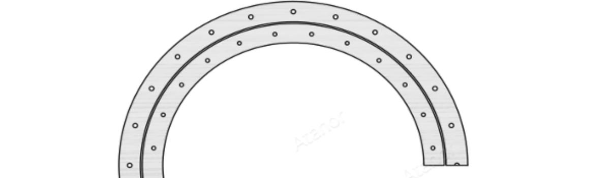 Опорно-поворотные кольца. Серия SD