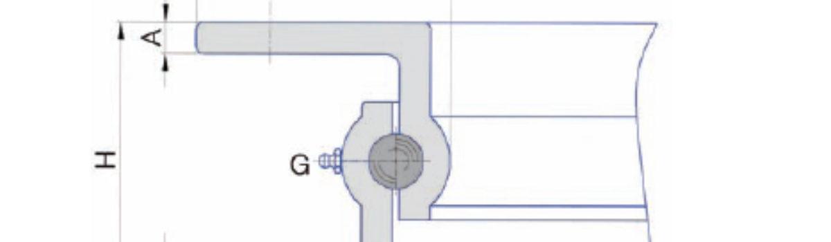 Опорно-поворотные кольца TG. Cерии U, Z