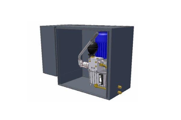 Гидростанция для тормозной системы Dellner Brakes серии DH 2000