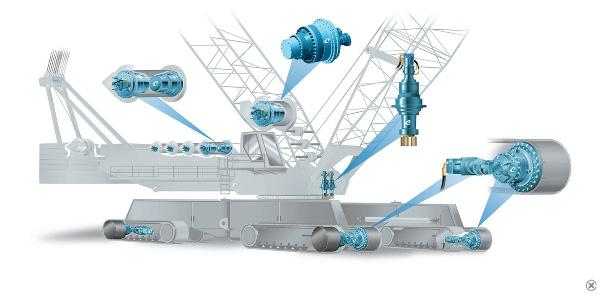 Комплексное приводное решение от Comer Industries