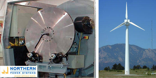 Ветроэнергетическая установка. Тормоз SKP 95