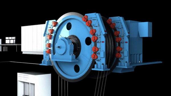 Тормозные системы для шахтных лебедок и шахтных подъемных машин