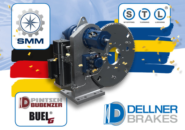 Dellner анонсирует новую тормозную систему BUEL STL на SMM 2018