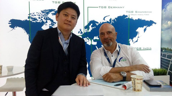 TGB Group на Intersolar 2018 (Мюнхен)