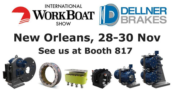 Dellner Brakes на International Workboat Show 2018