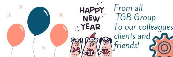 TGB Group поздравляет с с Новым 2019 годом по восточному календарю