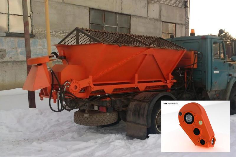 Редуктор транспортера на пескоразбрасыватель тонкие конвейера